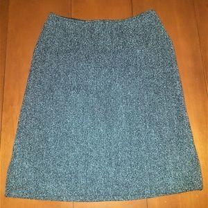 Holt Renfrew Boucle Skirt